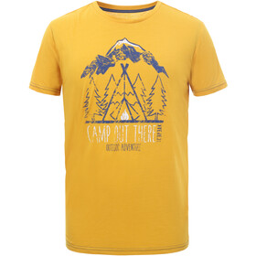 Icepeak Berkley T-Shirt Heren, yellow
